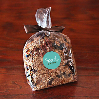 Sweetly in St. Louis by Rachel Katzman menu healthy treats granola