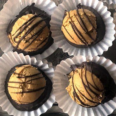 Sweetly in St. Louis menu by Rachel Katzman peanut butter balls