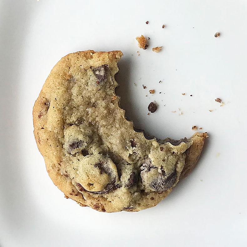 Sweetly in St. Louis by Rachel Katzman chocolate chip drop cookie
