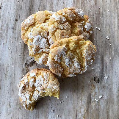 Sweetly in St. Louis by Rachel Katzman gooey butter cookie