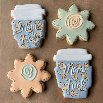 Sweetly in St. Louis by Rachel Katzman Mother's Day custom cookies