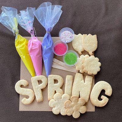 Sweetly in St. Louis by Rachel Katzman DIY cookie kit for Easter